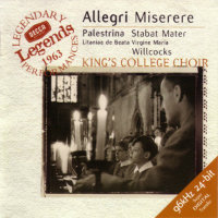 ALLEGRI, Gregorio / King's College Choir: Miserere