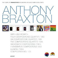 BRAXTON, Anthony: The Complete Remastered Recordings On Black Saint & Soul Note (8CD)