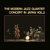MODERN JAZZ QUARTET: Concert In Japan, Vol. 2